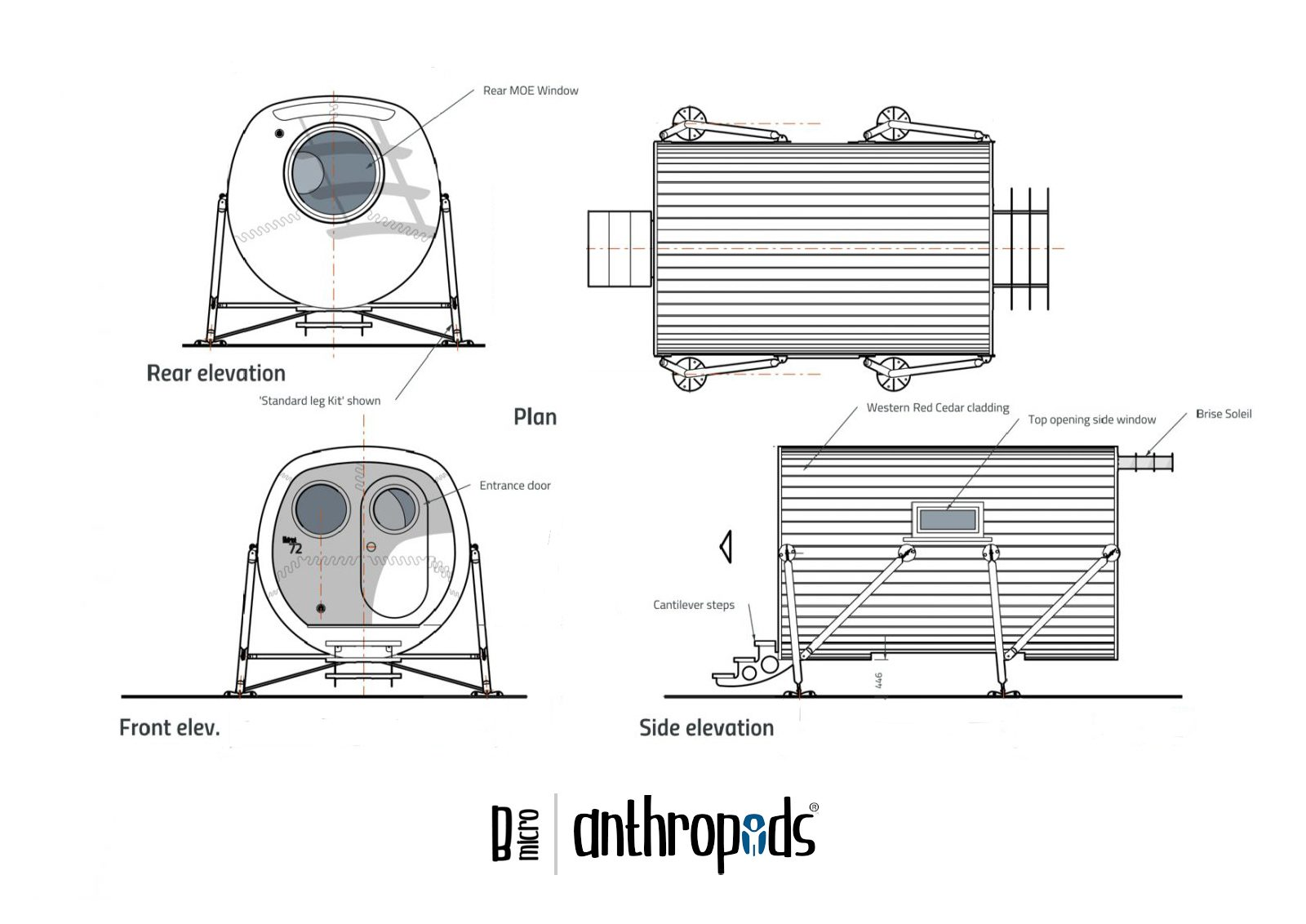 Anthropod Mico General Arrangement